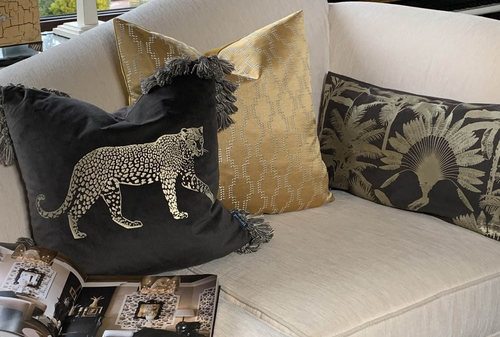 Cushions – the red lipstick of the home!